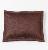 Gardenia Pillow Sham  - Espresso