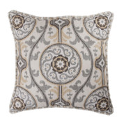 Izmir - Square Throw Pillow - Reversible