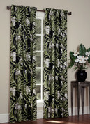 Jamaican - Rod Pocket Curtains Lined (pair)