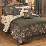 Browning Whitetails Oblong Throw Pillow