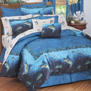 Coral reef - 4pc King Comforter Set