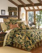 "La Selva - Square Throw Pillow - 18"""