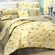 Laura 4pc King Comforter Set