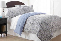 Micro Flannel - 3pc KING Comforter Set - Jacobean