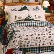Northern Exposure - 4pc Full Comforter Set
