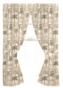 Palm Grove Poletop Curtain