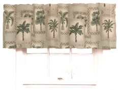 Palm Grove Tailored Valance