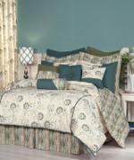 Suzette - Square Throw Pillow - Cushion