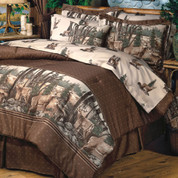 Whitetail Dreams Lined Curtain pair