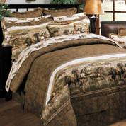 Wild Horses - 3pc Twin Comforter Set