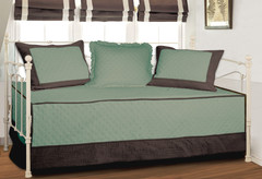 Brentwood Daybed Cover SET - Blue Surf