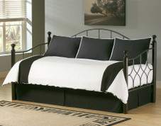 Zebra BW 5pc Daybed Cover SET