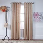 Adrian Grommet Top Curtain Panel - SAND