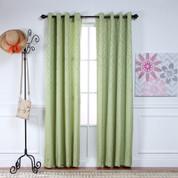 Adrian Grommet Top Curtain Panel - LEAF