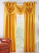 Chelsea Grommet Top Curtain Panel - Mango
