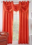 Chelsea Grommet Top Curtain Panel - Tangerine
