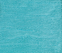 Cosmo Lace Lined Grommet Top Curtain Panel - Aqua