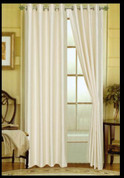 Elaine Grommet Top Curtain - Beige
