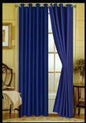Elaine Grommet Top Curtain - Navy