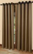 Harrison Grommet Top Panel - Chocolate