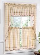 Adirondack kitchen curtain Valance