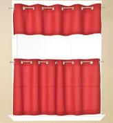 """Jackson Grommet 24"""" tier (pr) - Red"""