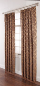 Darby PINCH PLEATED Drape PAIR - Gold