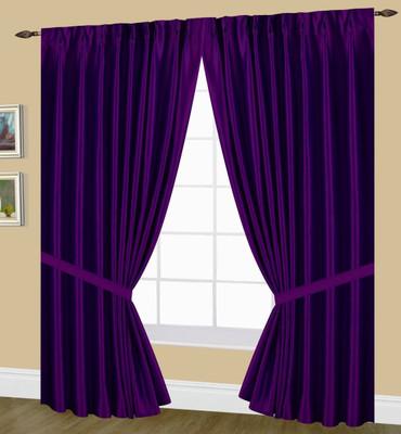 Elaine Pinch Pleated Drape Pair Purple Linens4less Com