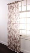 Ashley Rod Pocket Curtain - Mocha