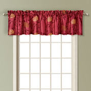 Avalon Valance - BURGUNDY