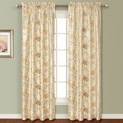 Avalon Rod Pocket Curtain - NATURAL