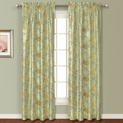 Avalon Rod Pocket Curtain - SAGE