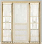 Batiste Door Panel - NATURAL - Available in 3 lengths