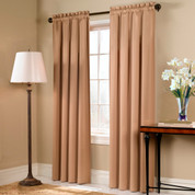 Blackstone Blackout Rod Pocket Curtain Panel - GOLD
