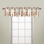 Chelsea Rod Pocket Valance - COPPER