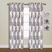 Chelsea Rod Pocket Curtain Panel - AMETHYST