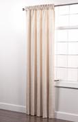Colorado Foam Back Rod Pocket Curtain Panel - CREAM