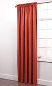 Colorado Foam Back Rod Pocket Curtain Panel - RUST