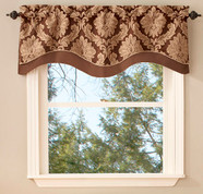 Darby Scalloped Valance - Available in 4 colors