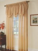 "Elegance Rod Pocket Curtain 84"" Long"