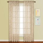 Savannah Rod Pocket Curtain Panel - Taupe