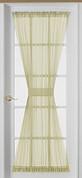 Emelia Sheer Voile Door Panel - Ecru - Available in 6 lengths