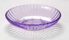 Acrylic Ribbed Soap Dish - Magenta
