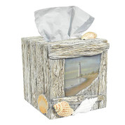 At the Beach - Tissue Box