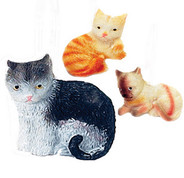Cats Shower Curtain Hooks - set of 12