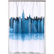 Cityscape Skyline Shower Curtain