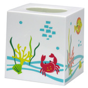 Crab Cove Tissue Box