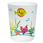 Crab Cove Wastebasket