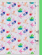Cute as a Bug - Fabric Shower Curtain