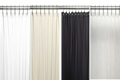 "Extra Long Vinyl Shower Curtain Liner 84"" long"